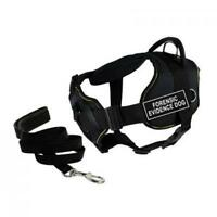 Dean & Tyler Dt Fun Chest Support Forensic Evidence Dog Harness X-large A2