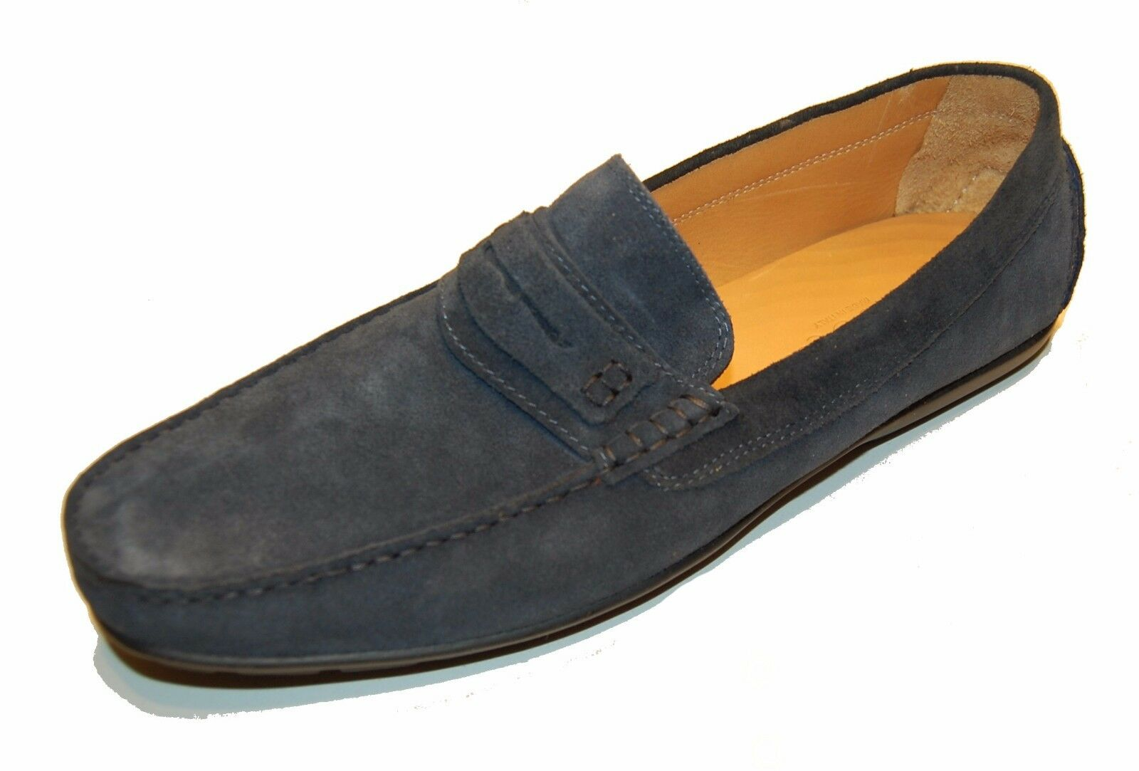 Saks Fifth Avenue Men's bluee Loafers Suede  shoes Size 13  278