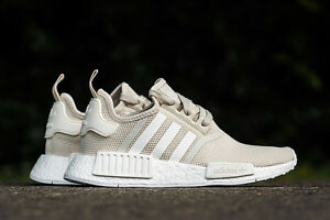 57e48f1a4a7b Adidas NMD R1 Runner Talc Off White Cream Sand S76007 Women