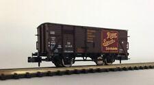 """BRAWA 67436 Gedeckter Güterwagen G 10 """"Ritter Sport"""" DB Ep. III 1:160 NEU & OVP"""