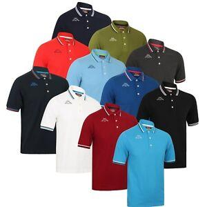c72a0ff677 Kappa Mens Maltax Pure Pique Cotton Sports Casual Polo Shirt Golf ...