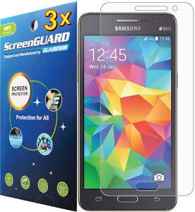3x Transparente Protector De Pantalla Anti Reflejos Samsung Galaxy Grand Primer Sm G530 Sm G530h Ebay