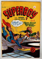 Australian SUPERBOY 68 DC Comics 1950's UK