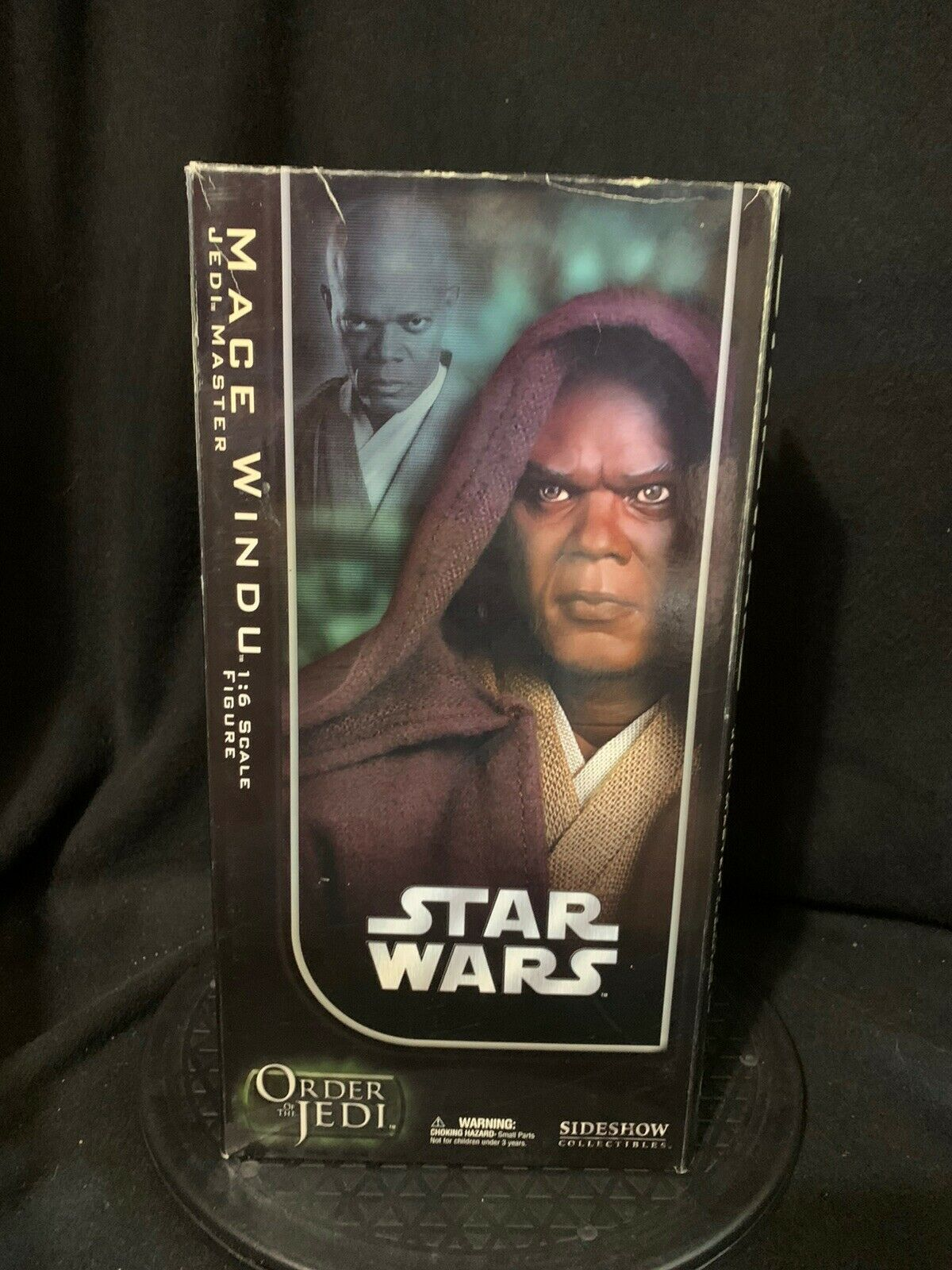 Sideshow Star Wars 1 6th Scale Mace Windu Jedi Master Order of the Jedi