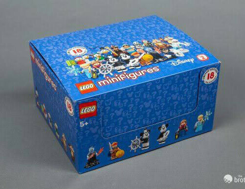 Brand New LEGO 71024 Disney💥Series 2 Minifigures Box of 60 Complete Full Set