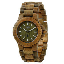 WEWOOD Date Army Damen-/Herrenuhr WW01002