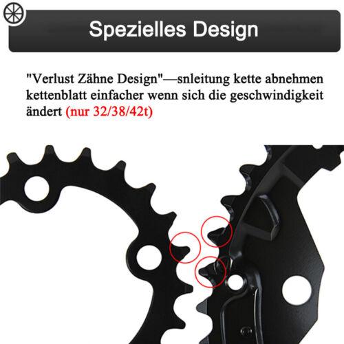 3X10-Fach 104mm 170 Kurbel Kurbelgarnitur Kettenblatt MTB Fahrrad Kurbelarme
