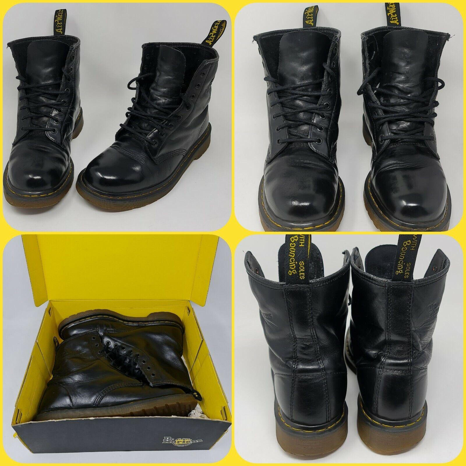 Dr Martens The Original AW501 Boots In Black UK Size 9 - US Size men 10 - Eur 43