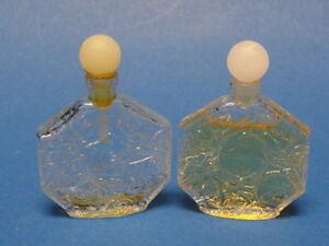 2x-Vintage-OMBRE-ROSE-by-JEAN-CHARLES-BROSSEAU-MINIATURE-MINI-PARFUM-PERFUME