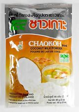 2-Pack Coconut Milk Powder Mix 2 Oz. Chaokoh Brand No Color, or Preservative