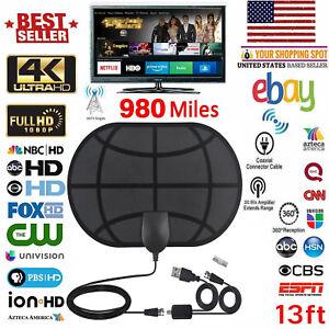 980-Millas-De-Alcance-Antena-Tv-Digital-Hd-Skywire-4K-Antena-Digital-Interior-HDTV-1080p