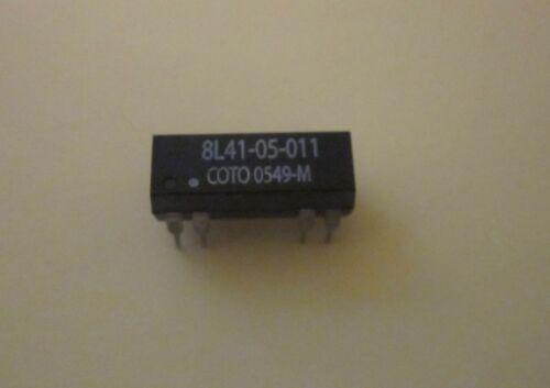 8L41-05-011 COTO SPDT .25A 100V 5VOLT COIL RELAY LOT OF 2 EACH