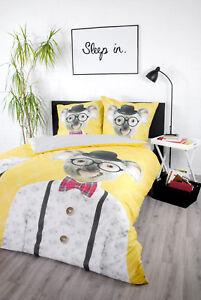 Bettwäsche Humorvoll Mädchen Bettwäsche 135x200 Baumwolle