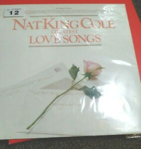 Nat-King-Cole-20-Greatest-Love-Songs-music-record-vinyl