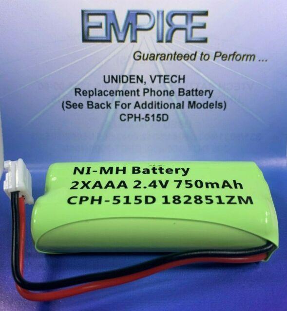 At T Bt8001 2 4v 750mah Nimh Cph 515d Empire Scientific
