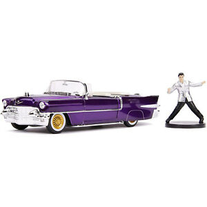 Jada-Toys-Hollywood-Rides-Elvis-1956-Cadillac-Eldorado-Die-Cast-Car-NEW