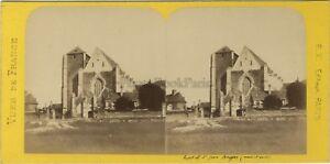 Hopital-Saint-Jean-Angers-France-Photo-Stereo-BK-Paris-Vintage-Albumine-ca-1870