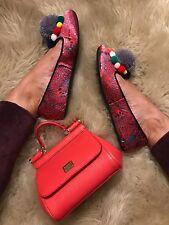 Dolce & Gabbana Pom Pom shoes inspired  !!   size 35  5