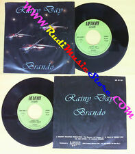 LP 45 7'' BRANDO Rainy day 1983 italy MEMORY MEM 45006 no cd mc dvd