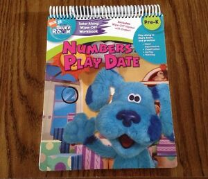 Blues Clues Room Numbers Play Date