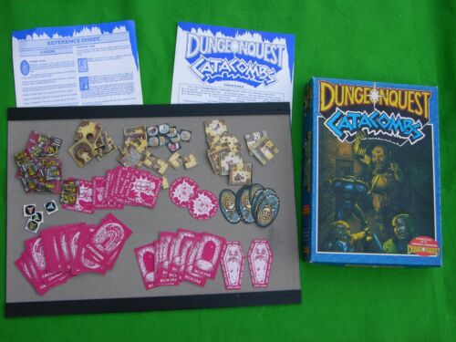 GAMES WORKSHOP CATACOMBS /& HEROES MULTI-LISTING DUNGEONQUEST