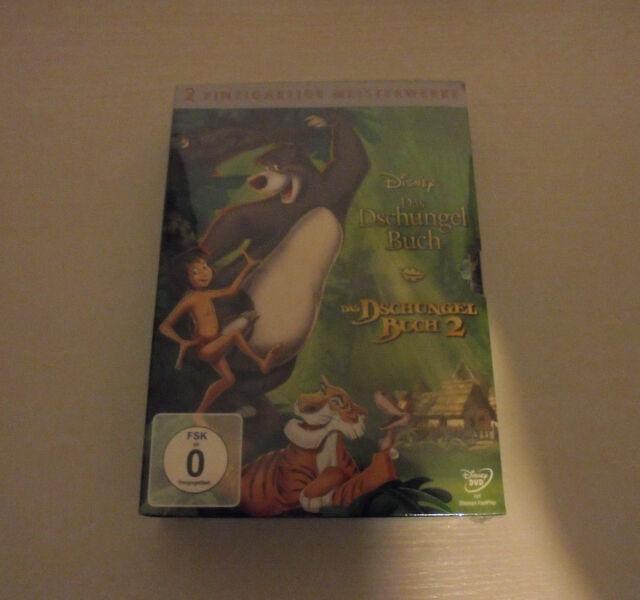 DVD Box Das Dschungelbuch 1 & 2, 2 DVD (2013) Moglis Abenteuer