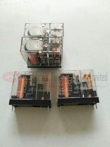G2R-2A 100VDC G2R-2A-DC100 Power Relay 5A 100VDC 6 Pins x 2pcs