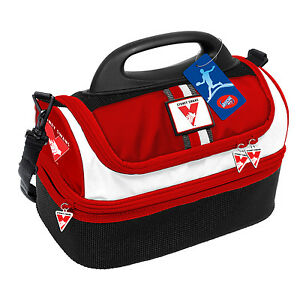 Sydney-Swans-AFL-Lunch-Box-Cooler-Food-BAG-Insulated-Kids-Back-to-School-Gift