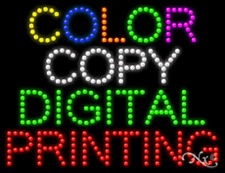 New Color Copy Digital Printing 26x20 Solidanimated Led Sign Withoptions 21681