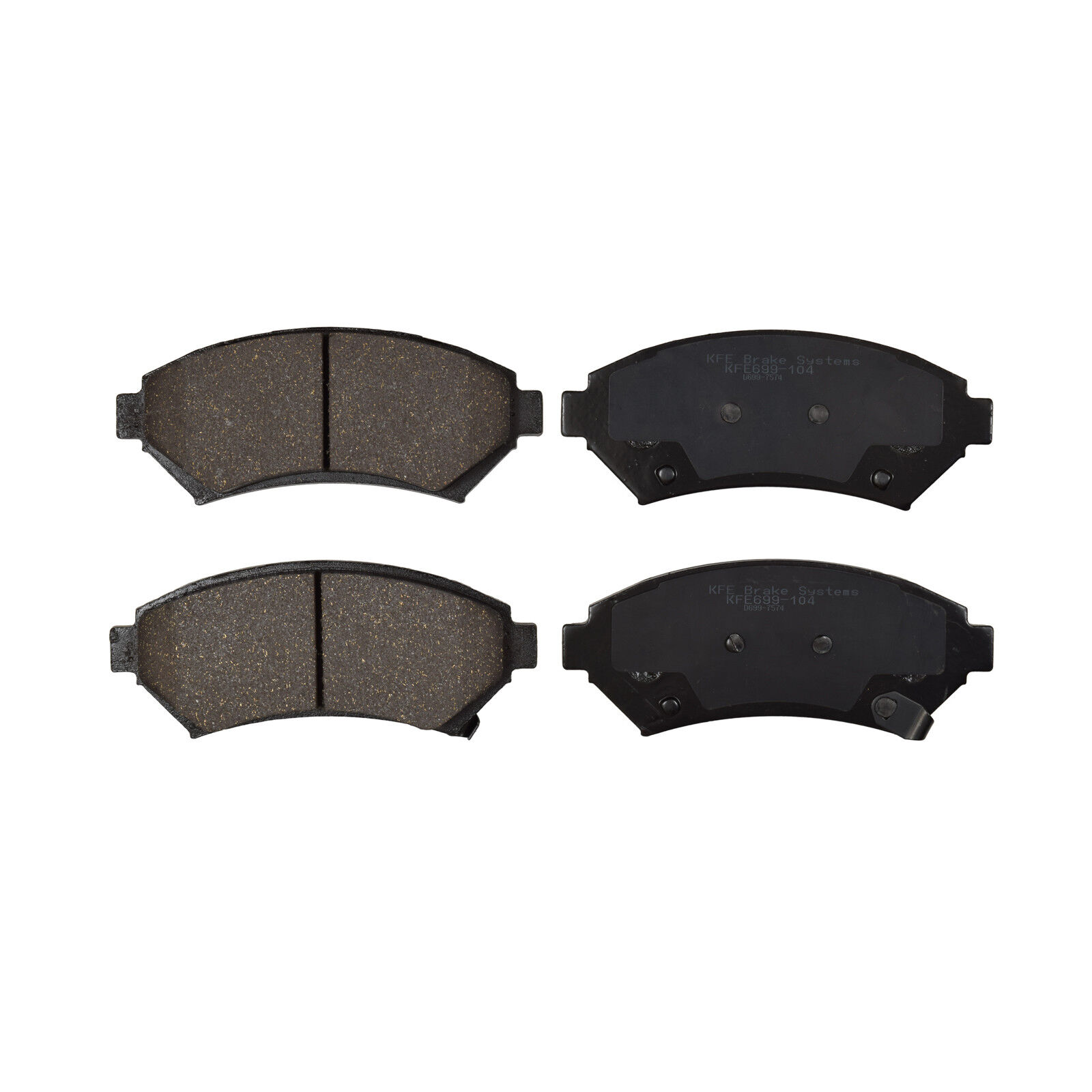 FRONT CERAMIC BRAKE PADS FOR OLDSMOBILE AURORA 1997 1998 1999 2000 2001 D699