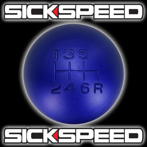 BLUE 175E METAL SHIFT KNOB FOR 6 SPEED SHORT THROW SHIFTER SELECTOR 12X1.25 K17