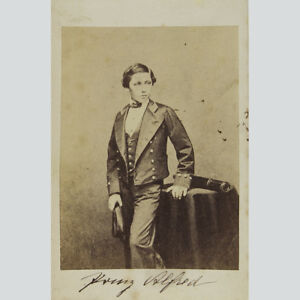 Alfred Von Sachsen-coburg Und Gotha. Cdv Um 1865.