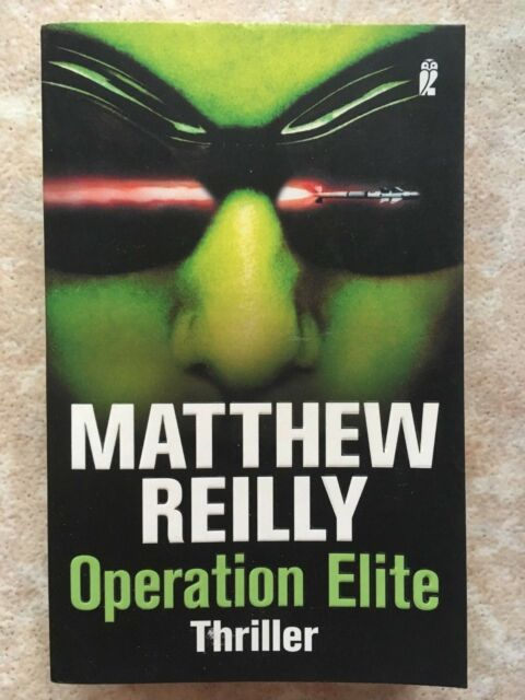 Reilly, Matthew - Operation Elite. TRILLER