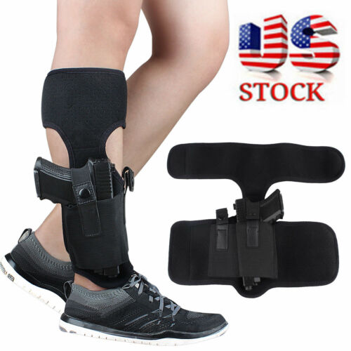 Concealed Pistol Ankle Leg Holster G 17//19//22//23 Ruger Lcp Sig Carry GUN 9MM