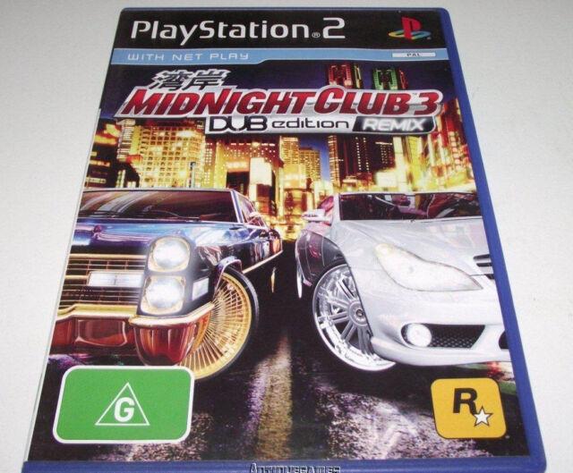 kode midnight club 3 remix ps2