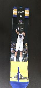 ad6f8dbd3d6 Image is loading Stance-Golden-State-Warriors-Socks-Klay-Thompson-Stephen-