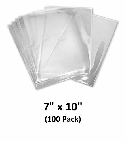 Clear 100 Guage, 7x10 inch Odorless 100 Pack MagicWater Supply