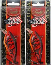 Rat-L-Trap Floating Lipless Crankbait 1//3oz FRSY8 Rayburn Red Fishing Lure