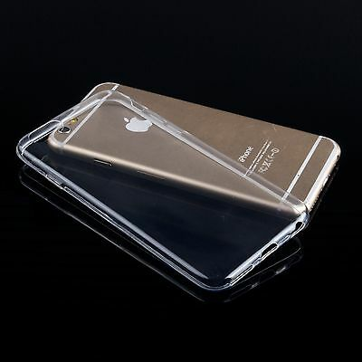 Wholesale 10x Clear Slim Fit TPU Soft Transparent Case Cover for iPhone 6/6s 4.7