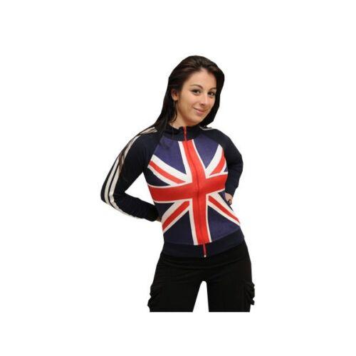 Union Jack Donna con Cerniera Superiore