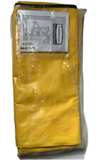 Rubbermaid Commercial Products Part No Fg617388 Yellow Vinyl Utility Cart Bag