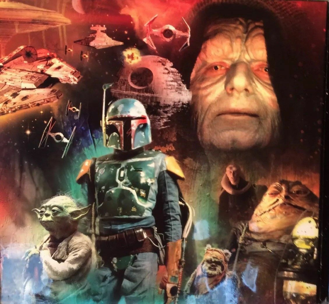 Colección de álbum y monedas Star Wars. 30 Aniversario.