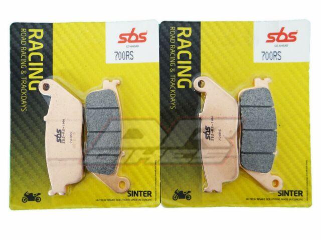 Honda CBR 650 F 2014 - 2018 SBS Course Plaquettes de Freins avant 700RS