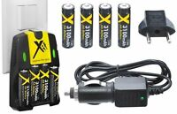 Ultra Hi 4aa Battery + 110/220v Dual Charger For Kodak Easyshare Z915