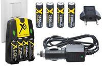 Ultra Hi 4aa Battery + 110/220v Dual Charger For Kodak Easyshare Z915