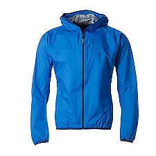 Dynafit-Jacke-Regenmantel-Herren-Groesse-UK-Small-blau-Legion