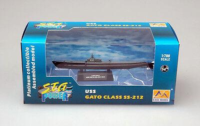 Easy Model - U-Boat USS GATO Class SS-212 U-Boot 1941 Fertigmodell 1:700 Marine