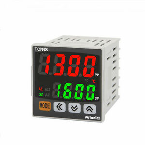 Pid temperature controller tcn4s 24r relay and ssr control 2 alarm image is loading pid temperature controller tcn4s 24r relay and ssr sciox Images