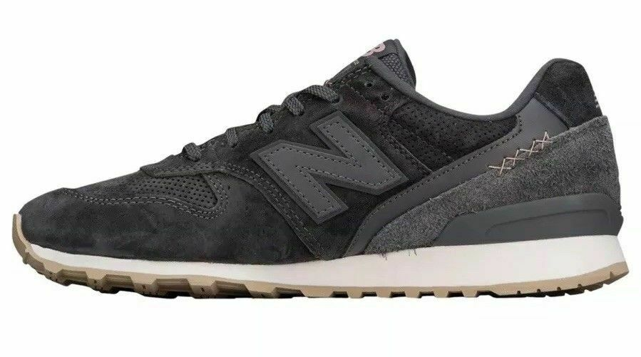 New Balance 696 Suede mujer's Talla 9. Sea Salt Pisces gris WL696BY NEW