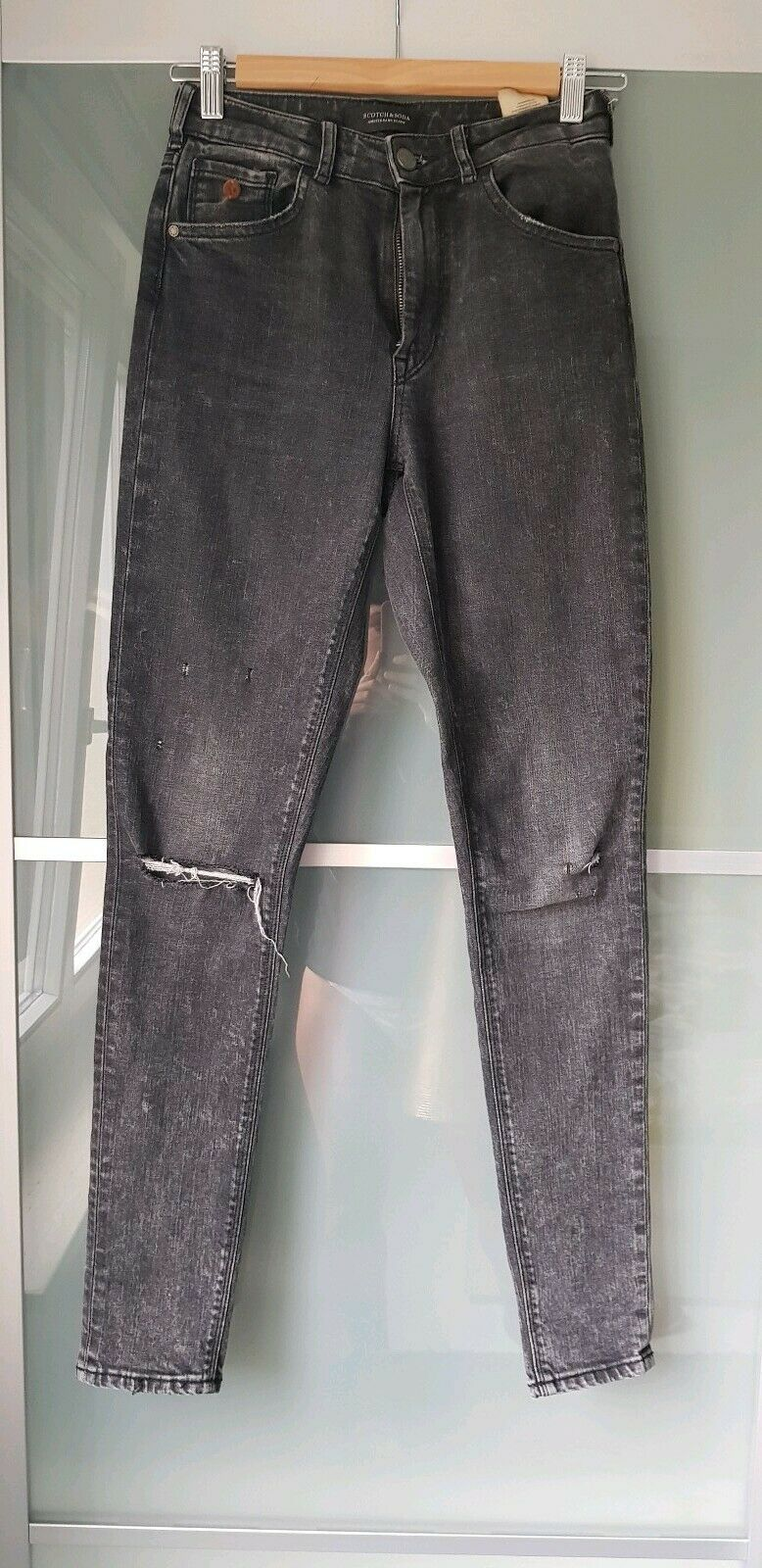 Maison Scotch Scotch and Soda Jeans Haut Smoke Peak